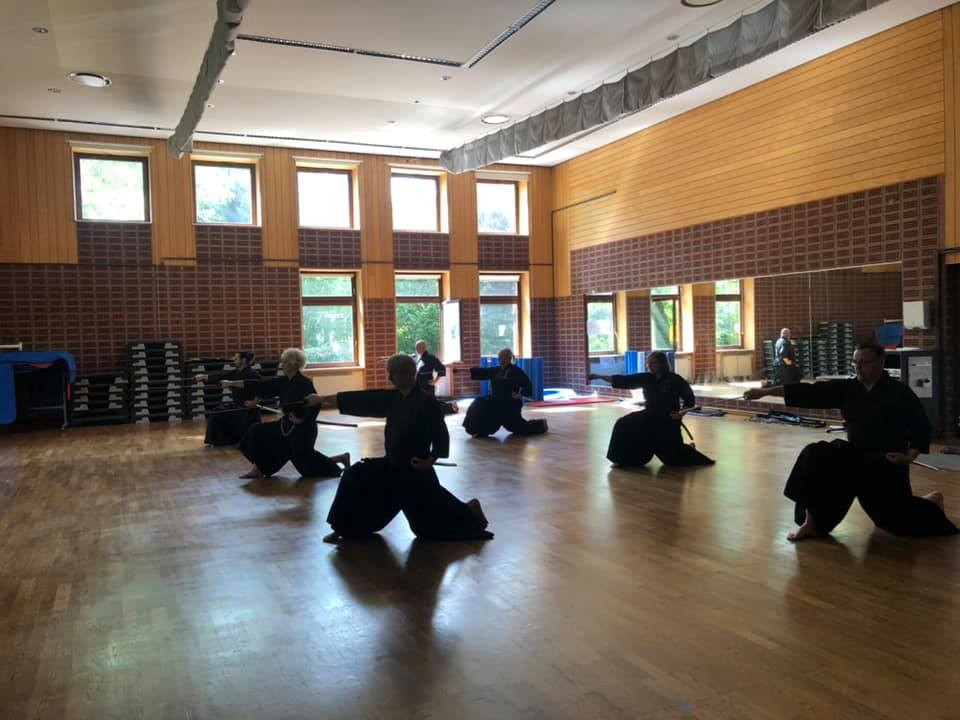 Erstes Indoor Training