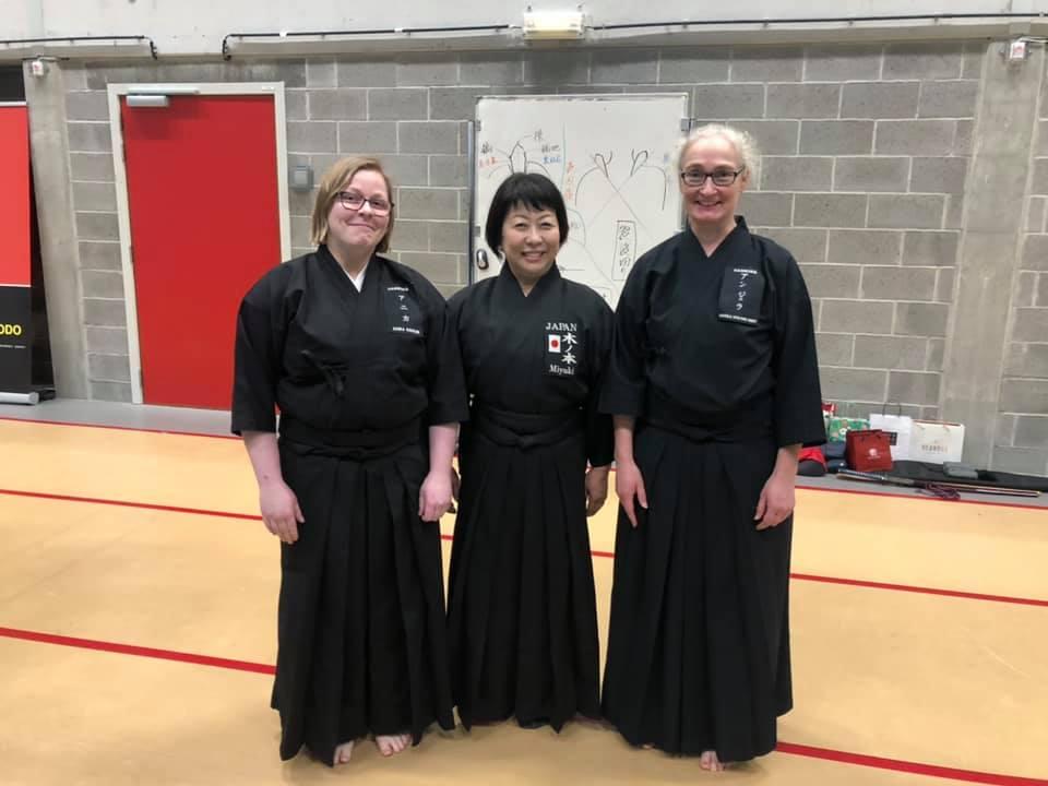 Women in Iaido 3rd edition